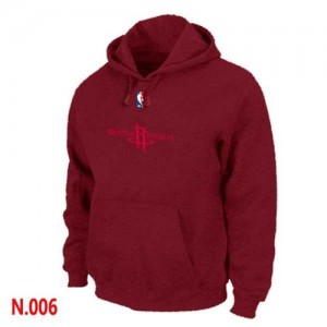 Pullover Sweat à capuche Houston Rockets NBA Rouge - Homme