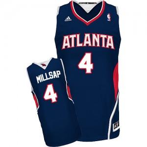 Maillot Swingman Atlanta Hawks NBA Road Bleu marin - #4 Paul Millsap - Homme