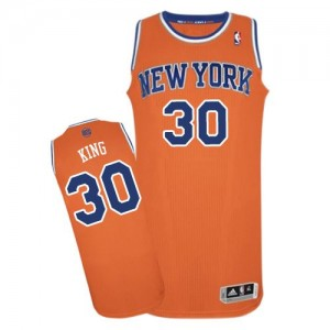 Maillot NBA Authentic Bernard King #30 New York Knicks Alternate Orange - Homme