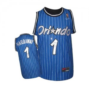 Maillot NBA Orlando Magic #1 Penny Hardaway Bleu royal Nike Authentic Throwback - Homme