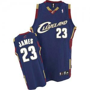 Cleveland Cavaliers LeBron James #23 Swingman Maillot d'équipe de NBA - Or pour Enfants