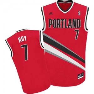 Maillot Swingman Portland Trail Blazers NBA Alternate Rouge - #7 Brandon Roy - Homme