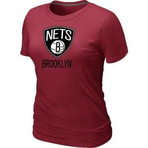 Brooklyn Nets Big & Tall Rouge T-Shirts d'équipe de NBA à vendre - pour Femme