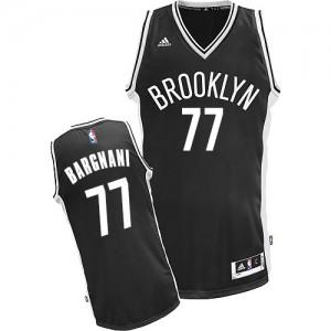 Brooklyn Nets #77 Adidas Road Noir Swingman Maillot d'équipe de NBA Peu co?teux - Andrea Bargnani pour Homme