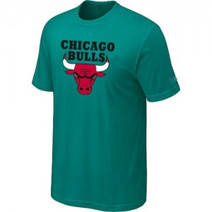 T-shirt à manches courtes Chicago Bulls NBA Big & Tall Vert - Homme