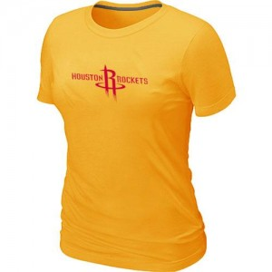 T-Shirts Jaune Big & Tall Houston Rockets - Femme