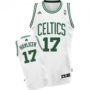 Maillot NBA Swingman John Havlicek #17 Boston Celtics Home Blanc - Homme