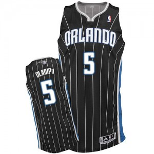 Maillot Adidas Noir Alternate Authentic Orlando Magic - Victor Oladipo #5 - Homme