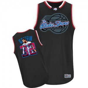 Maillot Authentic Los Angeles Clippers NBA Notorious Noir - #32 Blake Griffin - Homme
