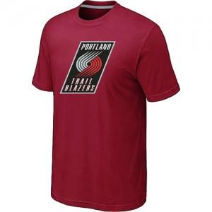T-Shirts NBA Portland Trail Blazers Rouge Big & Tall - Homme