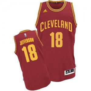 Maillot NBA Swingman Richard Jefferson #18 Cleveland Cavaliers Road Vin Rouge - Homme