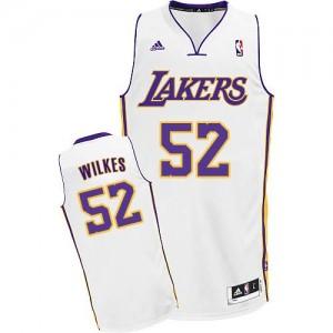 Los Angeles Lakers #52 Adidas Alternate Blanc Swingman Maillot d'équipe de NBA pour pas cher - Jamaal Wilkes pour Homme