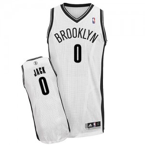 Maillot Authentic Brooklyn Nets NBA Home Blanc - #0 Jarrett Jack - Homme