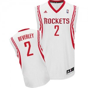 Maillot NBA Houston Rockets #2 Patrick Beverley Blanc Adidas Swingman Home - Homme