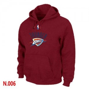 Sweat à capuche NBA Rouge Oklahoma City Thunder Homme