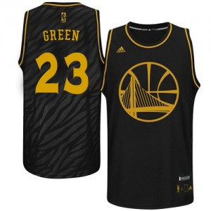 Maillot NBA Swingman Draymond Green #23 Golden State Warriors Precious Metals Fashion Noir - Homme