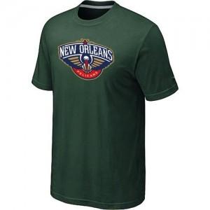 T-Shirts NBA New Orleans Pelicans Big & Tall Vert foncé - Homme