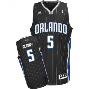 Orlando Magic Victor Oladipo #5 Alternate Swingman Maillot d'équipe de NBA - Noir pour Homme