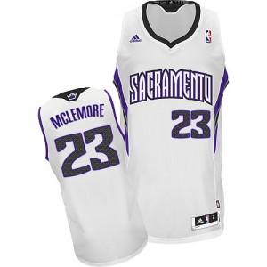 Sacramento Kings Ben McLemore #23 Home Swingman Maillot d'équipe de NBA - Blanc pour Homme
