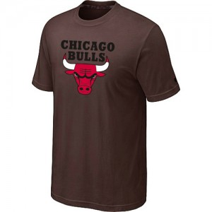 T-shirt à manches courtes Chicago Bulls NBA Big & Tall marron - Homme
