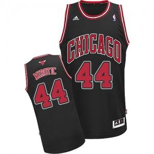 Maillot NBA Noir Nikola Mirotic #44 Chicago Bulls Alternate Swingman Homme Adidas