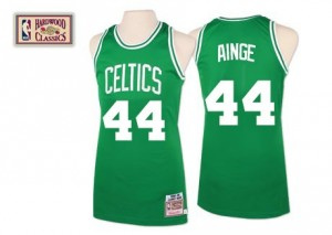 Boston Celtics Mitchell and Ness Danny Ainge #44 Throwback Authentic Maillot d'équipe de NBA - Vert pour Homme