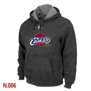 Cleveland Cavaliers Gris foncé Sweat à capuche d'équipe de NBA Vente pas cher - pour Homme
