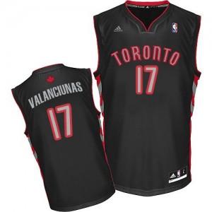 Maillot Adidas Noir Alternate Swingman Toronto Raptors - Jonas Valanciunas #17 - Homme