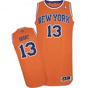 New York Knicks Jerian Grant #13 Alternate Authentic Maillot d'équipe de NBA - Orange pour Homme