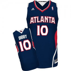 Maillot Swingman Atlanta Hawks NBA Road Bleu marin - #10 Mike Bibby - Homme