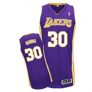Maillot Authentic Los Angeles Lakers NBA Road Violet - #30 Julius Randle - Homme