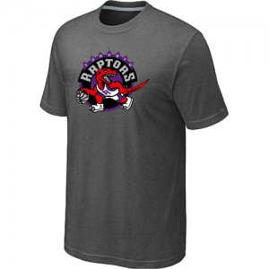 T-Shirts NBA Toronto Raptors Gris foncé Big & Tall - Homme