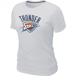 T-Shirts NBA Oklahoma City Thunder Blanc Big & Tall - Femme