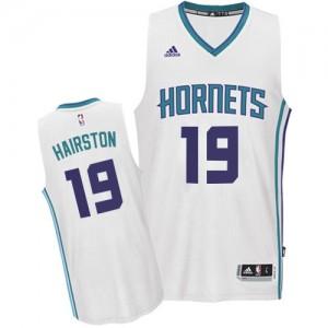 Maillot NBA Swingman P.J. Hairston #19 Charlotte Hornets Home Blanc - Homme