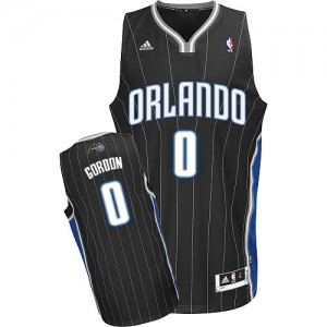 Orlando Magic Aaron Gordon #0 Alternate Swingman Maillot d'équipe de NBA - Noir pour Homme