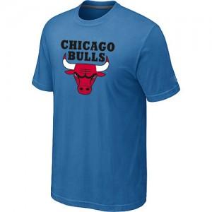 T-shirt à manches courtes Chicago Bulls NBA Big & Tall Bleu clair - Homme