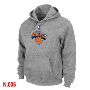 Sweat à capuche NBA New York Knicks Gris - Homme