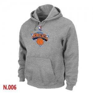 Sweat à capuche NBA New York Knicks Gris - Homme