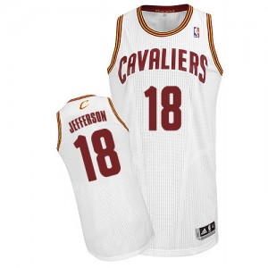 Maillot NBA Authentic Richard Jefferson #18 Cleveland Cavaliers Home Blanc - Homme