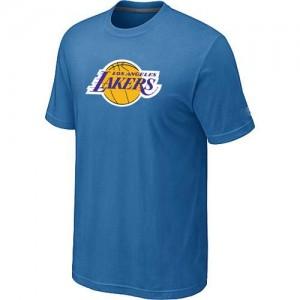Los Angeles Lakers Big & Tall T-Shirts d'équipe de NBA - Bleu clair pour Homme