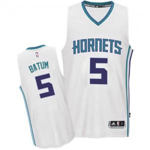 Maillot NBA Authentic Nicolas Batum #5 Charlotte Hornets Home Blanc - Homme
