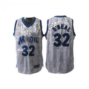 Maillot NBA Blanc Shaquille O'Neal #32 Orlando Magic Star Limited Edition Authentic Homme Adidas