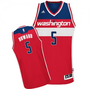 Maillot Swingman Washington Wizards NBA Road Rouge - #5 Juwan Howard - Homme