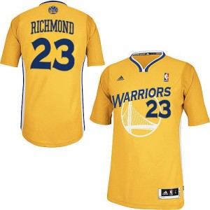 Maillot Adidas Or Alternate Swingman Golden State Warriors - Mitch Richmond #23 - Homme