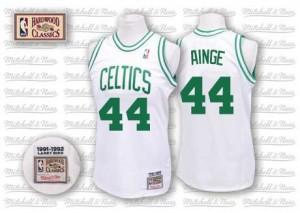 Boston Celtics Mitchell and Ness Danny Ainge #44 Throwback Swingman Maillot d'équipe de NBA - Blanc pour Homme