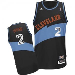 Cleveland Cavaliers Kyrie Irving #2 ABA Hardwood Classic Authentic Maillot d'équipe de NBA - Noir pour Homme
