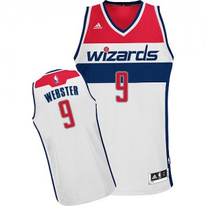 Maillot Swingman Washington Wizards NBA Home Blanc - #9 Martell Webster - Homme