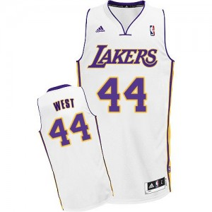 Maillot Swingman Los Angeles Lakers NBA Alternate Blanc - #44 Jerry West - Homme