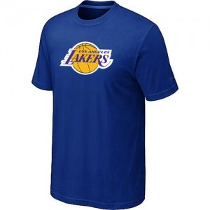 Los Angeles Lakers Big & Tall T-Shirts d'équipe de NBA - Bleu pour Homme