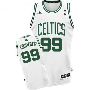 Maillot NBA Swingman Jae Crowder #99 Boston Celtics Home Blanc - Homme
